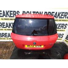 2011-2014 Skoda Fabia 5 Door Hatchback TAILGATE Red F3k - Used