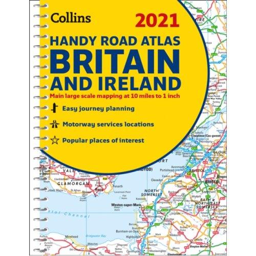 GB Road Atlas Britain 2021 Handy by Collins Maps