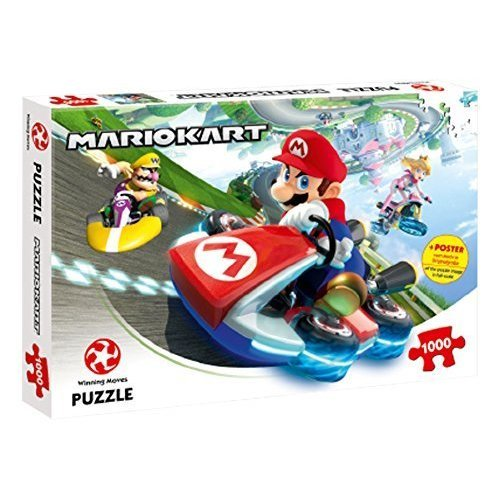 Mario kart Funracer 1'000pce Jigsaw Puzzle