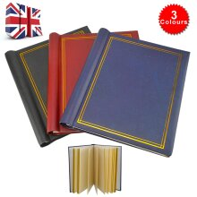 3XSELF ADHESIVE PHOTO ALBUMS TOTALLING 60 SHEETS 120 SIDES ALBUM