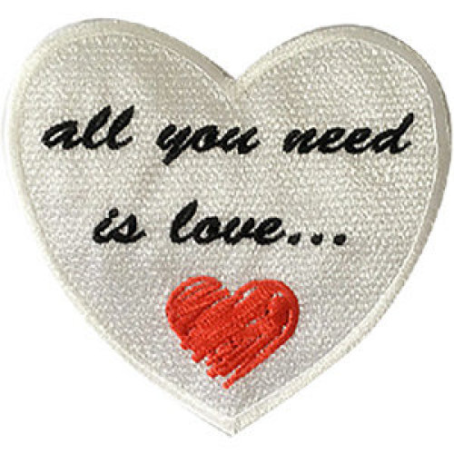 Patch - Lennon and McCartney - All You Need Is Love Icon-On p-4658
