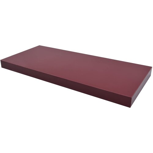 Floating Shelf 80cm Shelves High Gloss Red