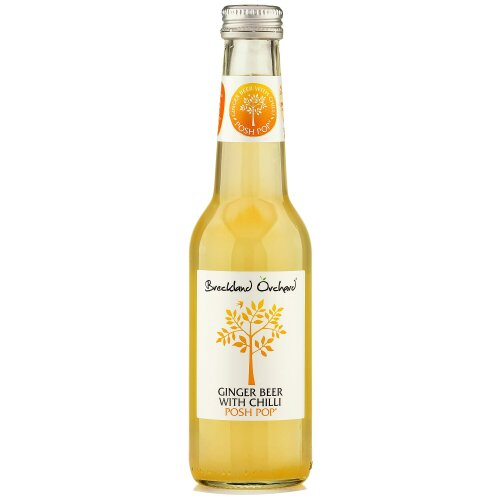 Breckland Orchard Ginger Beer with Chilli Posh Pop - 12x275ml