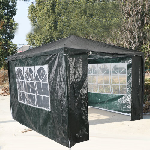(Green) Gazebo Marquee Canopy  Party Tent Outdoor 3M x 3M