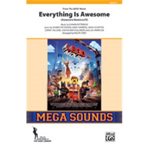 Alfred 00-43892 EVERYTHING IS AWESOME-MSS