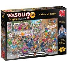 1000pc Jumbo Wasgij A Piece of Pride Jigsaw Puzzle