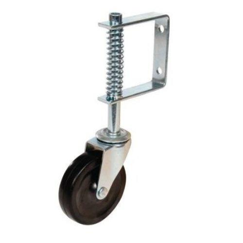 100mm 57kg Fixman Spring-loaded Gate Caster Swivel - Castor 455654 Spring -  gate castor 100mm 57kg fixman swivel 455654 spring loaded wheel