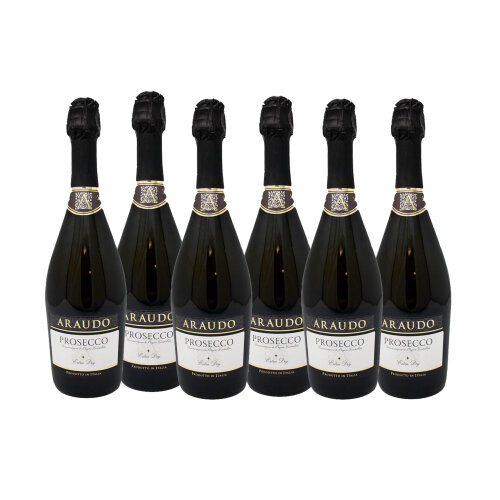 Araudo Prosecco DOC (case of 6 x 75cl Bottles)