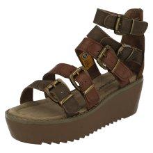 Ladies CAT Platform Sandals Penny - W Fit