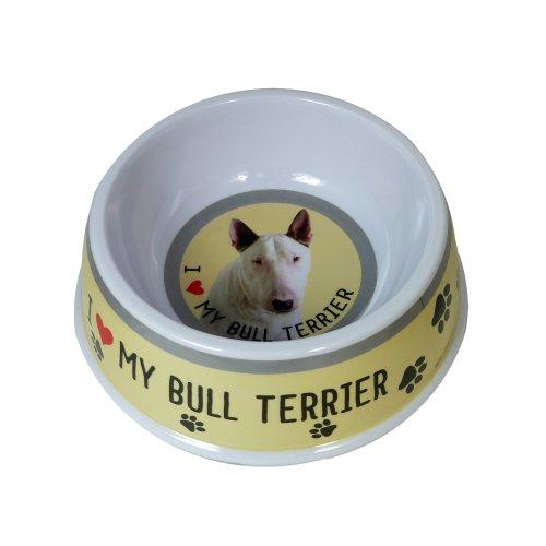 English Bull Terrier Dog Bowl