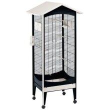 birdcage Brio Mini 73,5 x 160 cm steel black/white