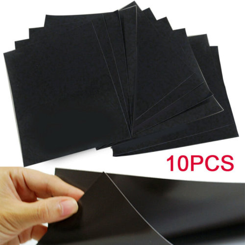 10x A4 Magnetic Sheets 0.5mm Strong Flexible Car Sign Die Crafts