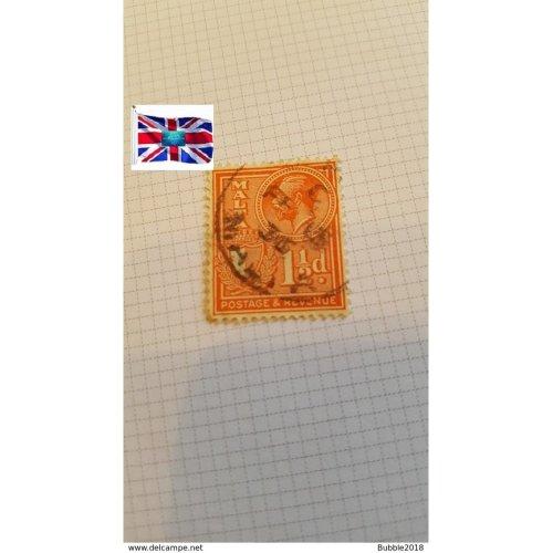 "Malta 1930 "" Inscribed"" POSTAGE & REVENUE"" 1½ p - Maltese penny"