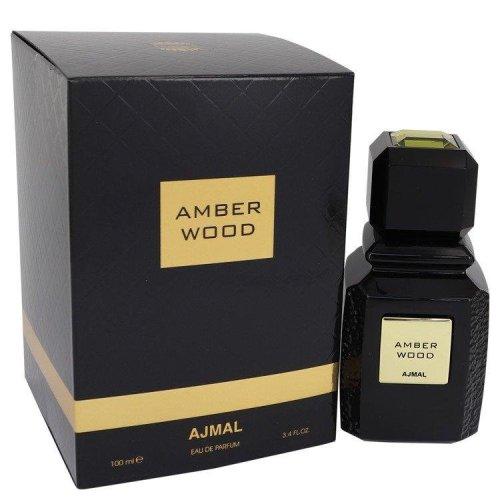Ajmal Amber Wood by Ajmal Eau De Parfum Spray (Unisex) 3.4 oz