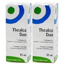 Thealoz Duo Eye Drops 10ml - Pack of 2
