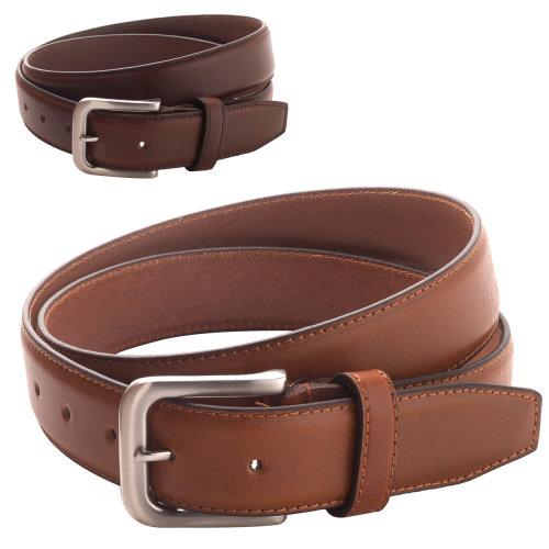 Forest Belts Mens 1.1in Bonded Leather Belt