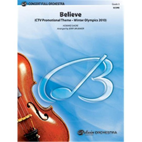 Alfred 00-33702 BELIEVE - WINTER OLYMPICS 2010-PCF