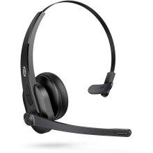 TaoTronics Trucker Bluetooth Headset with Microphone, Wireless Headset