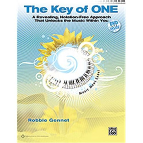 Alfred 00-34218 KEY OF ONE, THE-BK&DVD