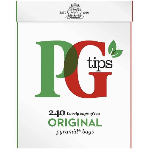 PG Tips Original Pyramid Tea Bags, (Pack of 240)