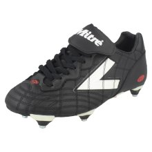 Boys Mitre Football Boots Meteor - Black Synthetic - UK Size 5.5 - EU Size 39 - US Size 6.5