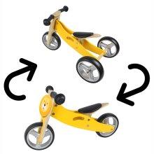 Hooga 2-in-1 Wooden Balance Bike Trike Tricycle - Lion