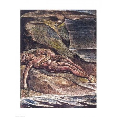 Milton A Poem Albion on The Rock 1804 Poster Print by William Blake - 18 x 24 in.