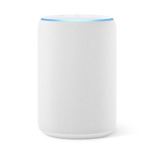 Amazon Echo 3rd Generation White Sandstone | Alexa Enabled Smart Speaker