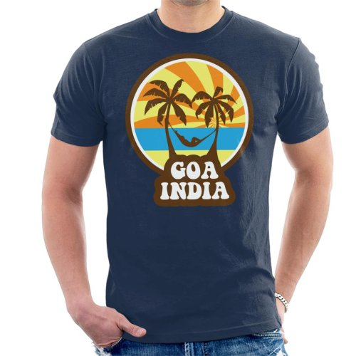 Goa India 70s Style Men's T-Shirt