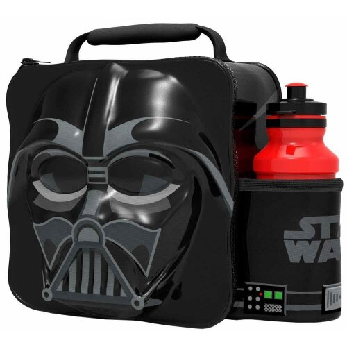 3D Darth Vader Lunch Bag with Bottle