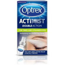 Optrex Double Action Actimist Spray for Tired & Strained Eyes 10ml