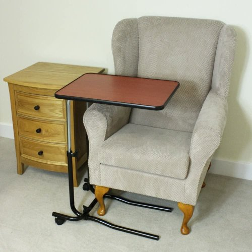 Portable Mobility OverBed Chair Table Hospital Tray Elderly Disability