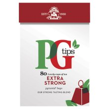 PG Tips Strong 80 Teabags (Pack of 3, Total 240 Teabags)
