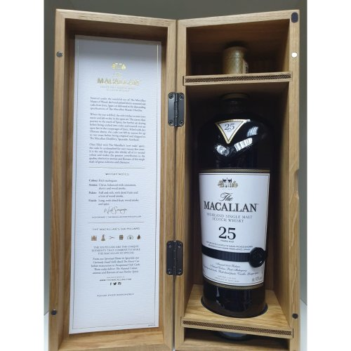 The Macallan Sherry Oak 25 Year Old - 2018 Release (Scotch Whisky)