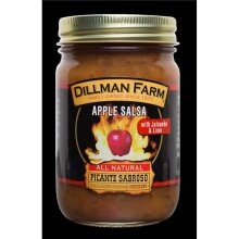 Dillman Farm 852 13 oz Hot Apple Salsa - Pack of 6