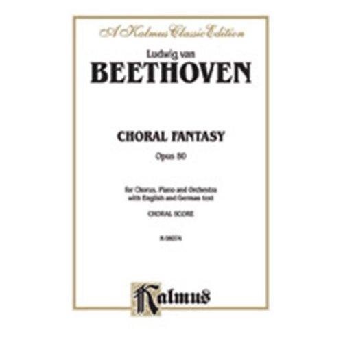 Alfred 00-K06074 Beethoven Fantasy Op.80 Choral Book