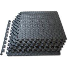 Interlocking Jigsaw Floor EVA Foam Gym Yoga Mats (24 mats-96 sq.ff)