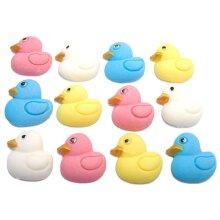 Baby Shower Cupcake Decorations 12 Edible Baby Ducks