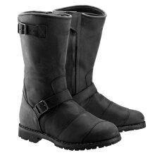 Belstaff Endurance Leather Boots Black