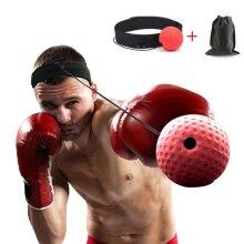 Kick Boxing Head Band Fighting Speed Training Reflex Ball