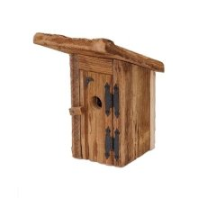 Chester County Mushroom Wood Outhouse, Natural