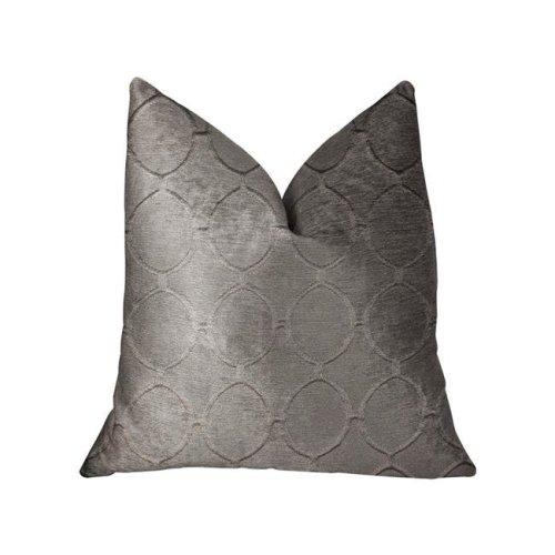 Plutus PBRA2275-2424-DP Moonlight Beige Luxury Throw Pillow, 24 x 24 in.