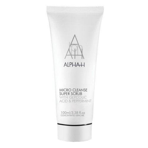 Alpha-H Micro Cleanse Super Scrub with Glycolic Acid and Peppermint, 100 ml
