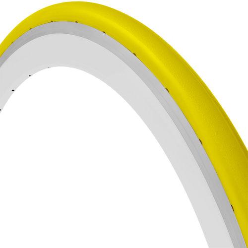 Tannus Aither 1.1 700x25 Slick Tread Tyre, YLW