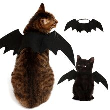 Pet Bat Halloween Costume Vampire Dress Wing Dog Cat Animal Fancy Party Outfit