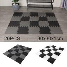 20 Large EVA Soft Foam Kids Floor Mat Jigsaw Tiles Interlocking Garden Play Mats