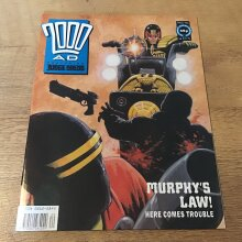 2000AD featuring Judge Dredd 1991 #731 Comic - Used