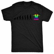 8TN Evolution of Dance - Floss - Black Print Womens T Shirt