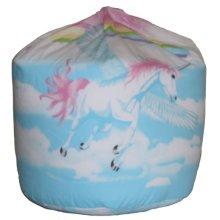 Unicorn and Clouds Bean Bag