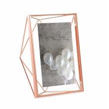 Umbra 313015-880, Steel Prisma Multi-Photo Frame, Copper (Cuivre), 5x7